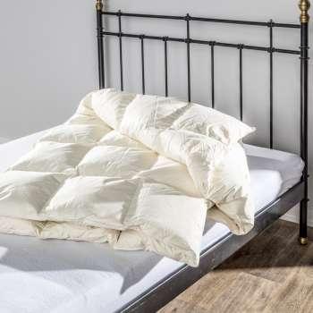 Bettdecke Natural 160x200cm Halbdaunen extra