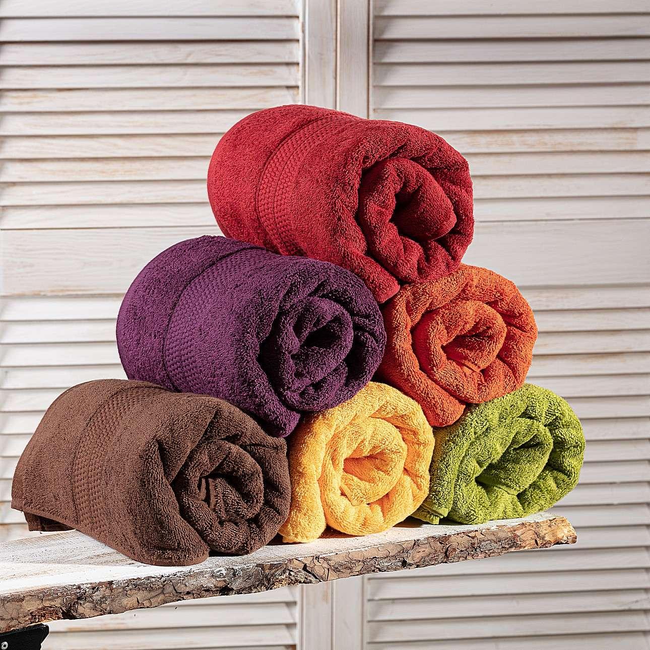 Ręcznik Evora 70x140cm czerwony