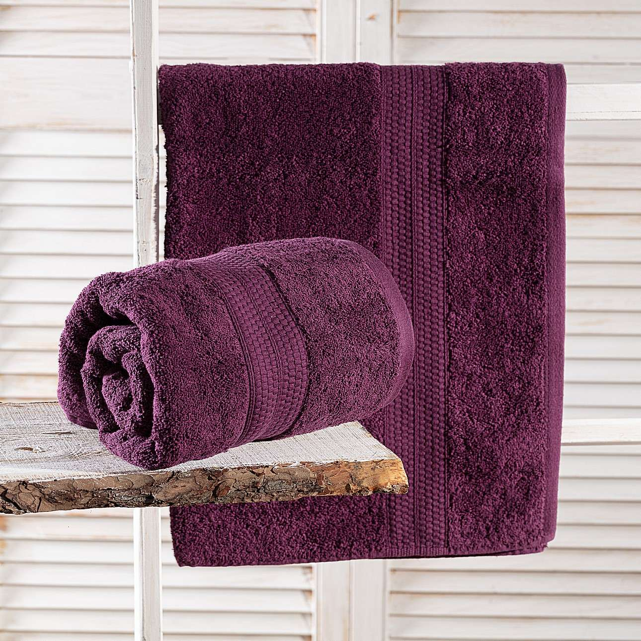 Ręcznik Evora fioletowy 50x90 cm