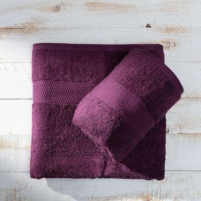 Håndklæde aubergine