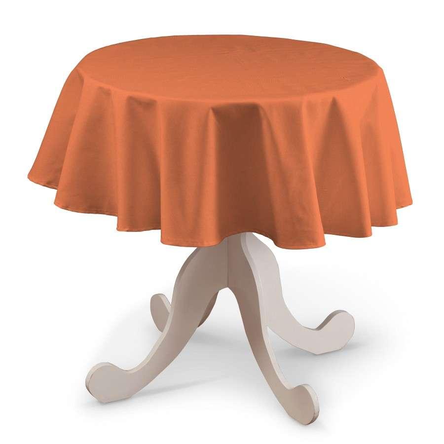 Runde Tischdecke Ø 135 cm von der Kollektion Jupiter, Stoff: 127-35