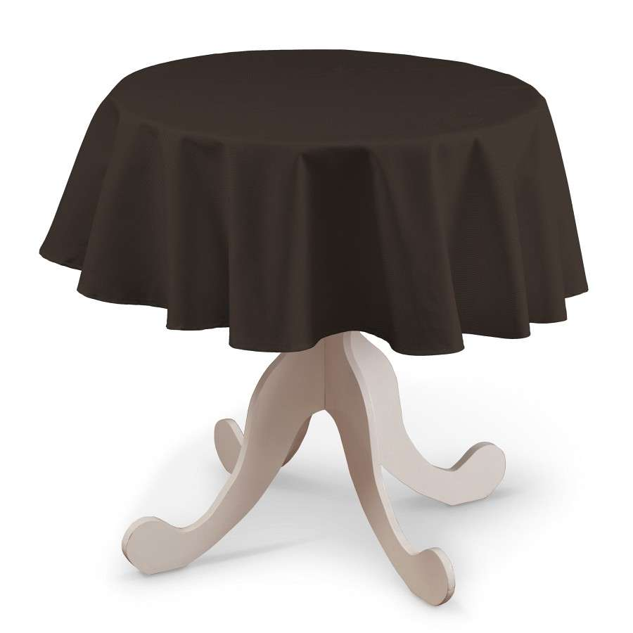 Runde Tischdecke Ø 135 cm von der Kollektion Cotton Panama, Stoff: 702-03