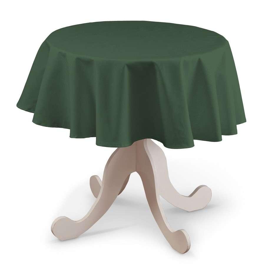 Runde Tischdecke Ø 135 cm von der Kollektion Cotton Panama, Stoff: 702-06