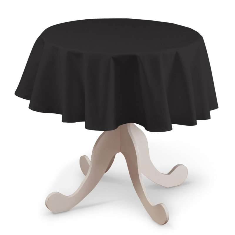 Round tablecloth in collection Panama Cotton, fabric: 702-08