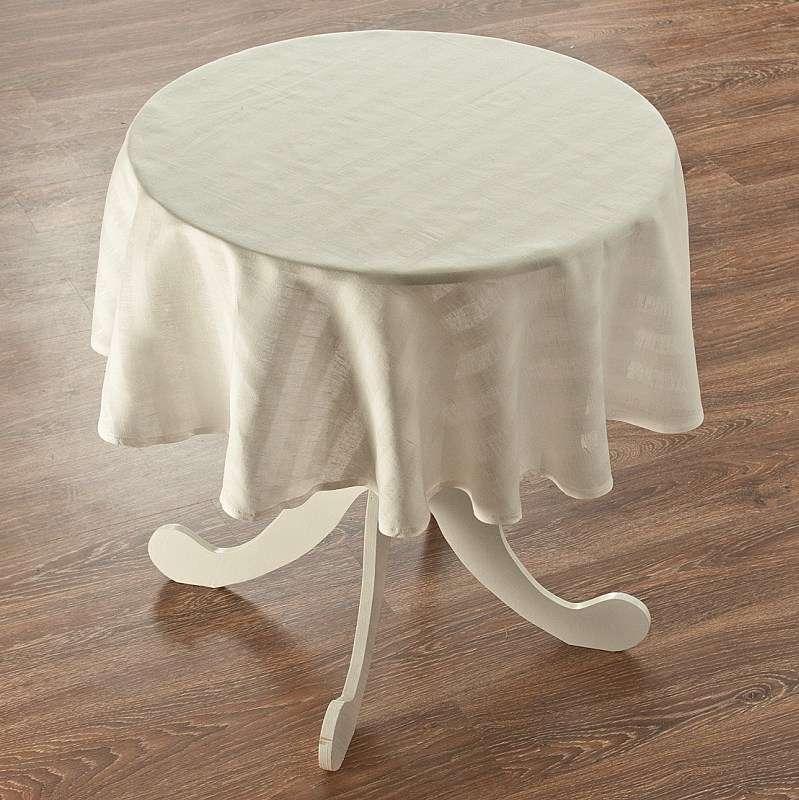 Staltiesės (apvaliam stalui) Ø 135 cm kolekcijoje Linen , audinys: 392-03