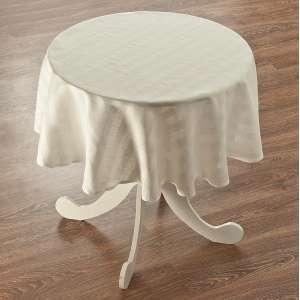 Runde Tischdecke Ø 135 cm von der Kollektion Leinen, Stoff: 392-03
