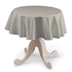 Runde Tischdecke Ø 135 cm von der Kollektion Leinen, Stoff: 392-05