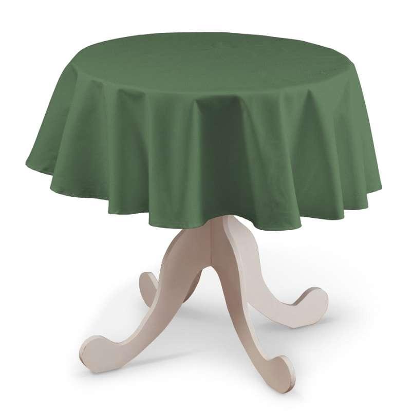 Rund bordsduk i kollektionen Loneta, Tyg: 133-18