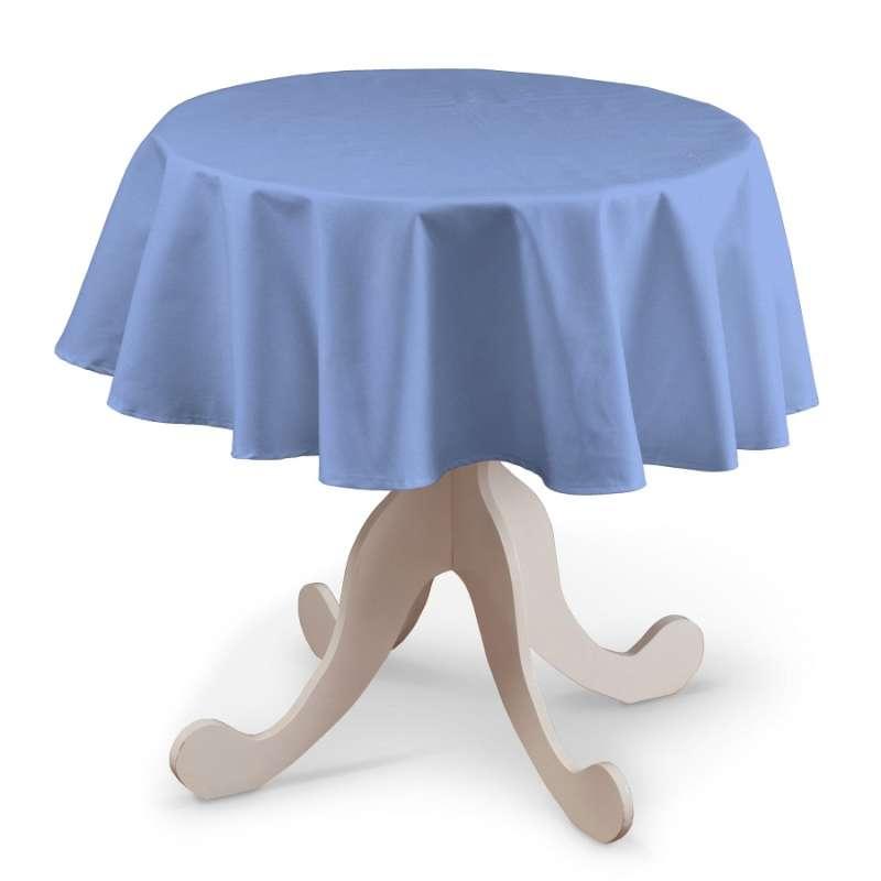 Rund bordsduk i kollektionen Loneta, Tyg: 133-21