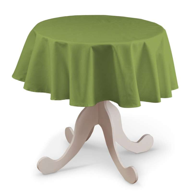 Round tablecloth in collection Panama Cotton, fabric: 702-27