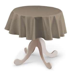 Staltiesės (apvaliam stalui) Ø 135 cm kolekcijoje Cotton Panama, audinys: 702-28