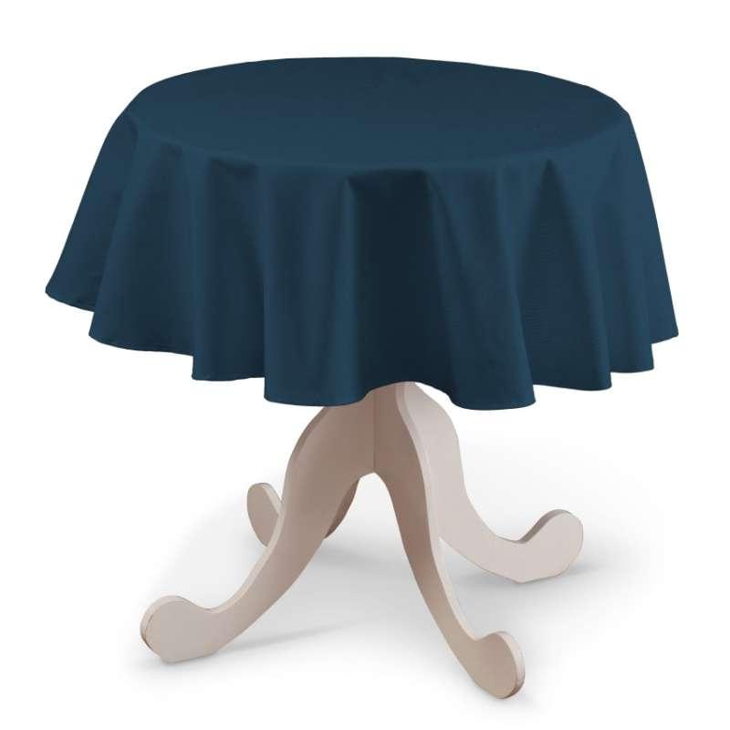 Runde Tischdecke von der Kollektion Cotton Panama, Stoff: 702-30