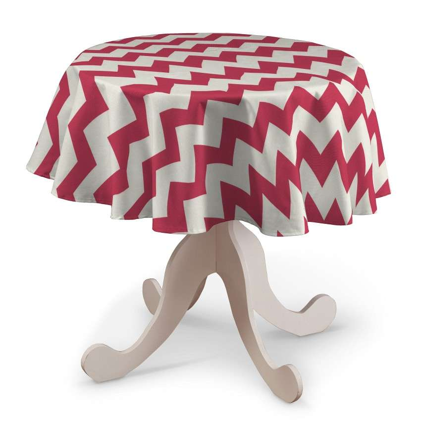 Round tablecloth in collection Comics/Geometrical, fabric: 135-00