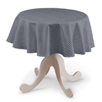 Obrus okrúhly V kolekcii Quadro, tkanina: 136-00