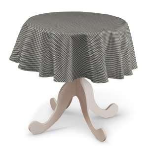 Runde Tischdecke Ø 135 cm von der Kollektion Quadro, Stoff: 136-10