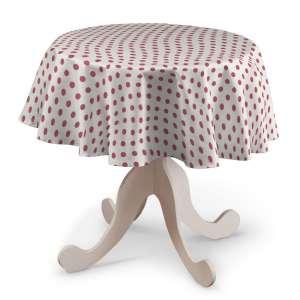 Runde Tischdecke Ø 135 cm von der Kollektion Ashley, Stoff: 137-70
