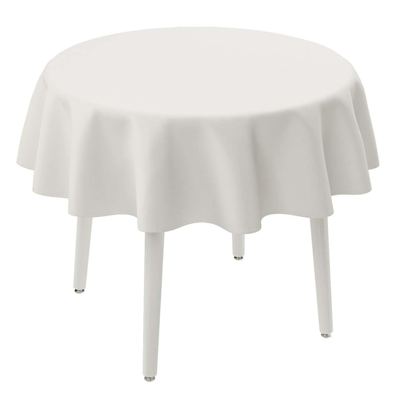Runde Tischdecke Ø 135 cm von der Kollektion Cotton Panama, Stoff: 702-34