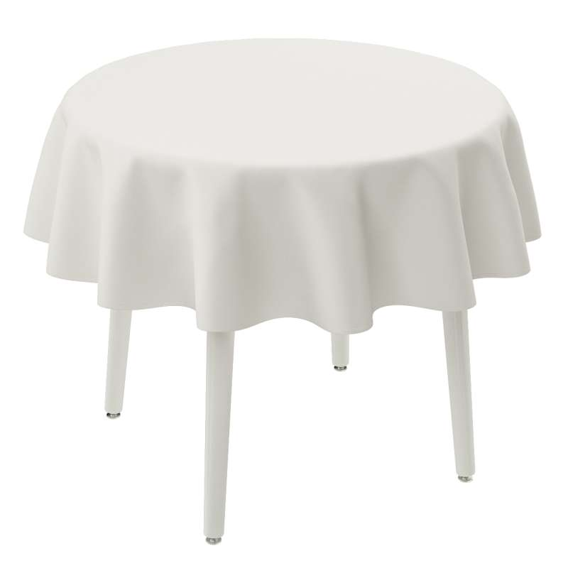 Runde borddug fra kollektionen Cotton Panama, Stof: 702-34