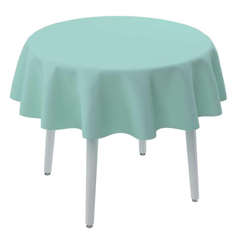 Pyöreä pöytäliina mallistosta Loneta, Kangas: 133-32
