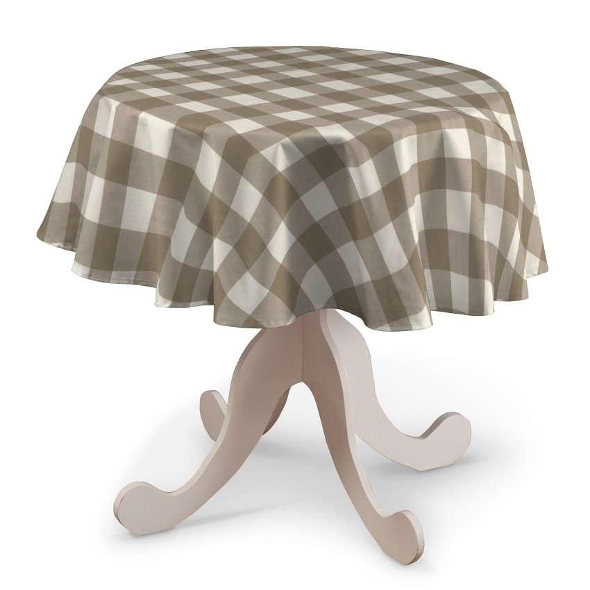 Staltiesės (apvaliam stalui) Ø 135 cm kolekcijoje Quadro, audinys: 136-08