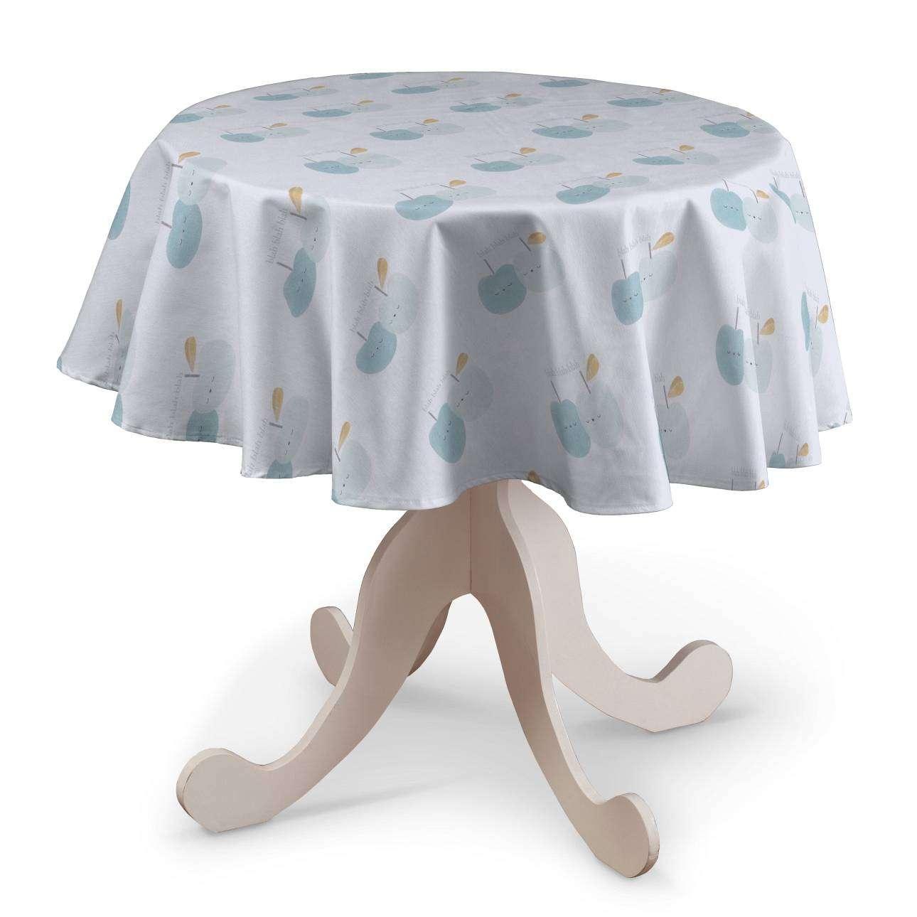 Staltiesės (apvaliam stalui) Ø 135 cm kolekcijoje Apanona, audinys: 151-02