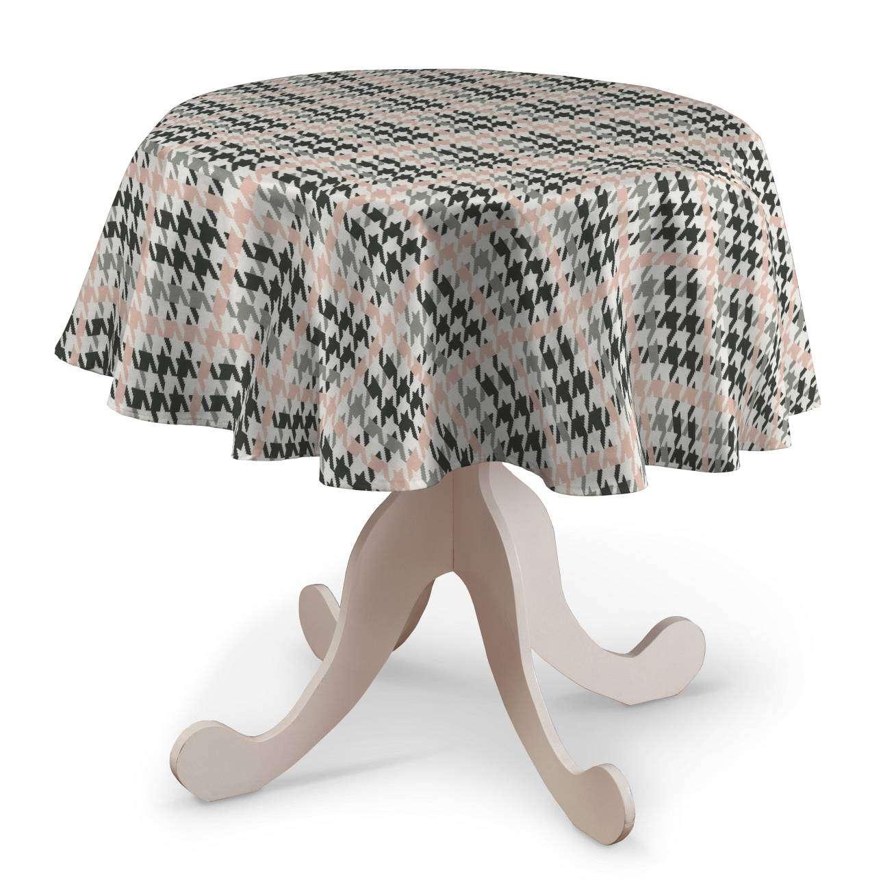 Rund bordsduk i kollektionen Brooklyn, Tyg: 137-75