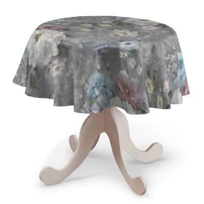 Obrus okrągły w kolekcji Monet, tkanina: 137-81