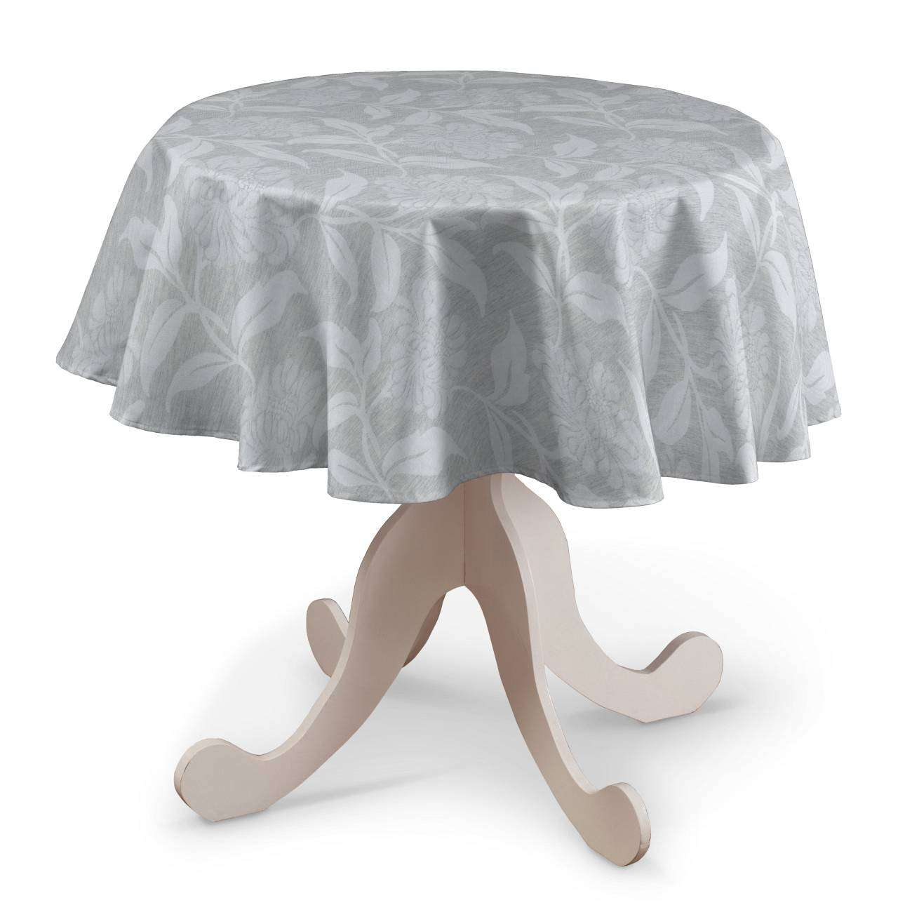 Runde borddug fra kollektionen Venice, Stof: 140-51