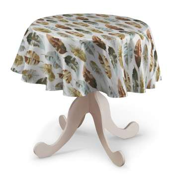 Round tablecloth in collection Urban Jungle, fabric: 141-43