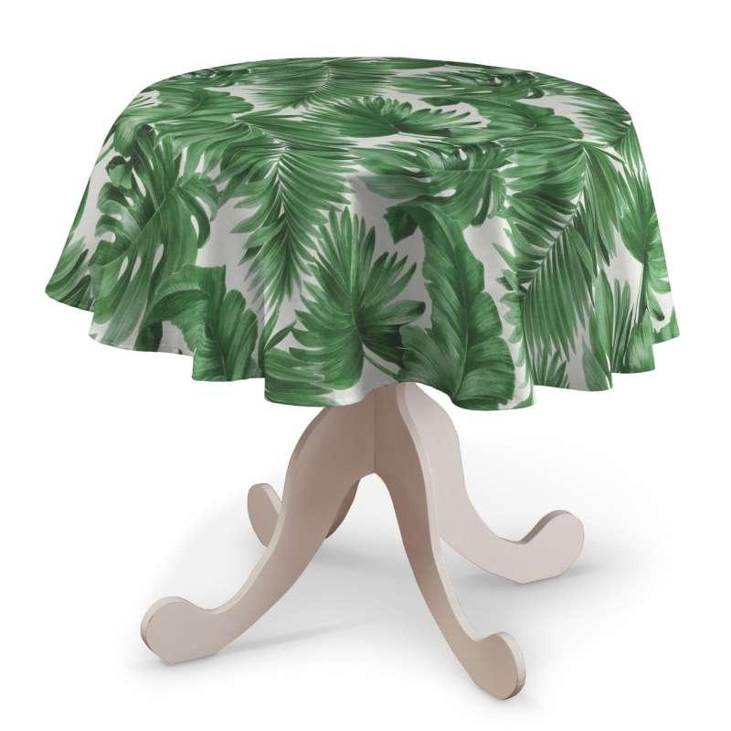 Rund bordsduk i kollektionen Tropical Island, Tyg: 141-71