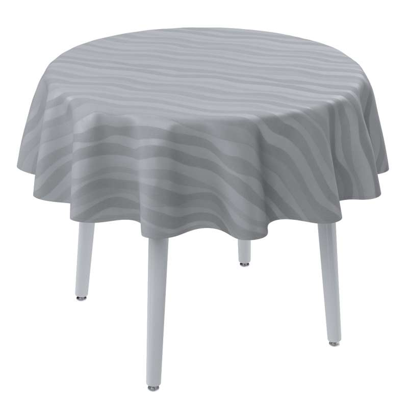 Round tablecloth in collection Damasco, fabric: 141-72