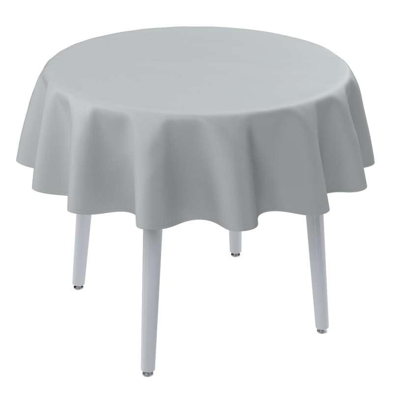 Runde Tischdecke von der Kollektion Damasco, Stoff: 141-77
