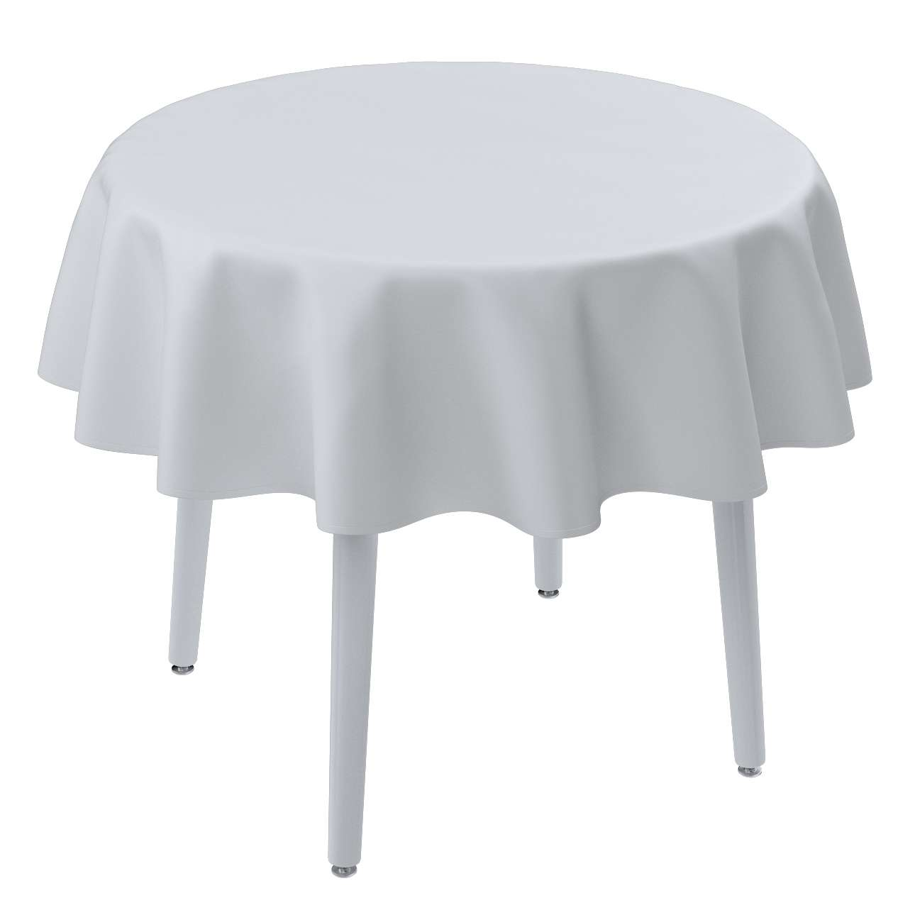 Runde Tischdecke von der Kollektion Damasco, Stoff: 141-78