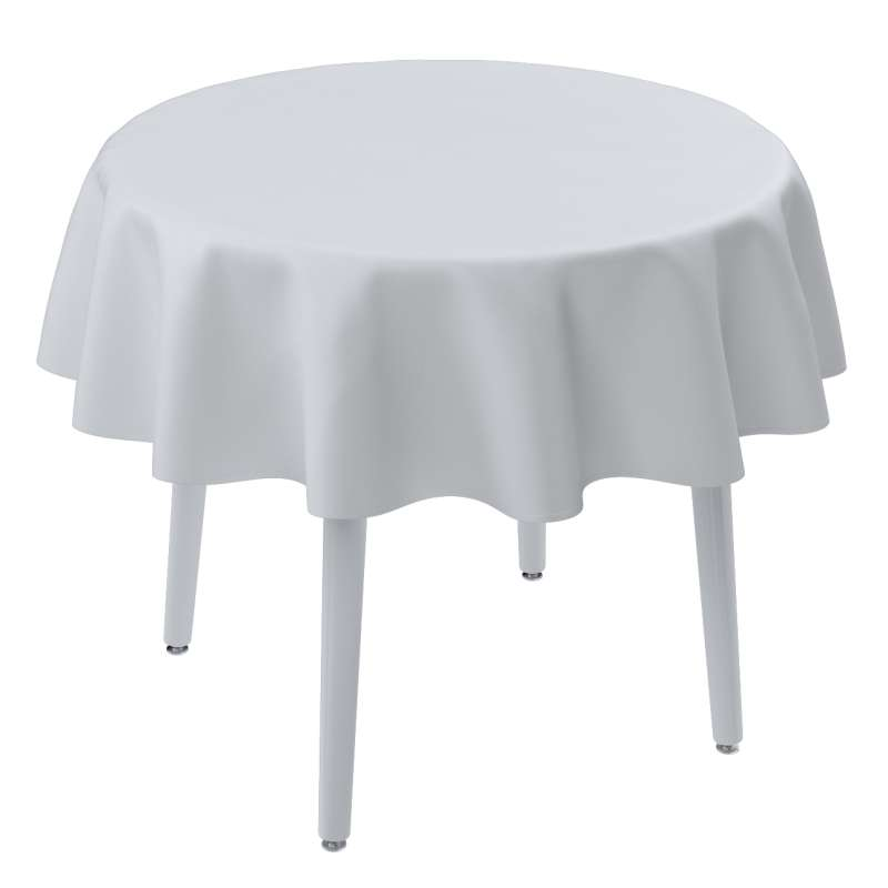 Runde borddug fra kollektionen Damasco, Stof: 141-78