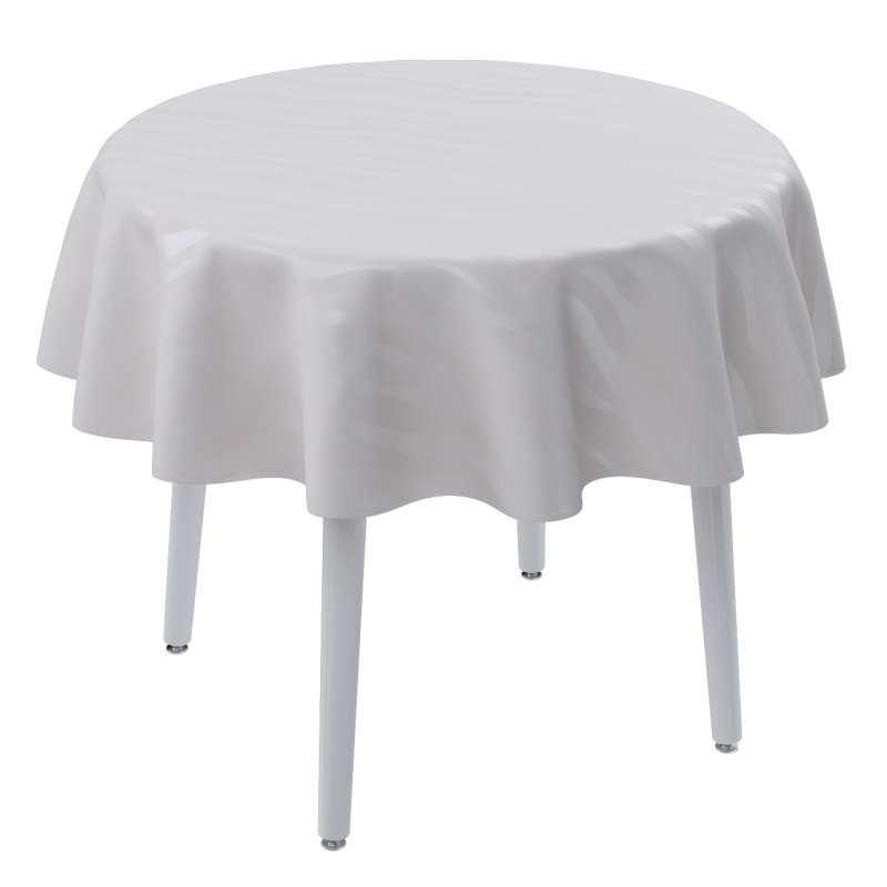 Runde Tischdecke von der Kollektion Damasco, Stoff: 141-87