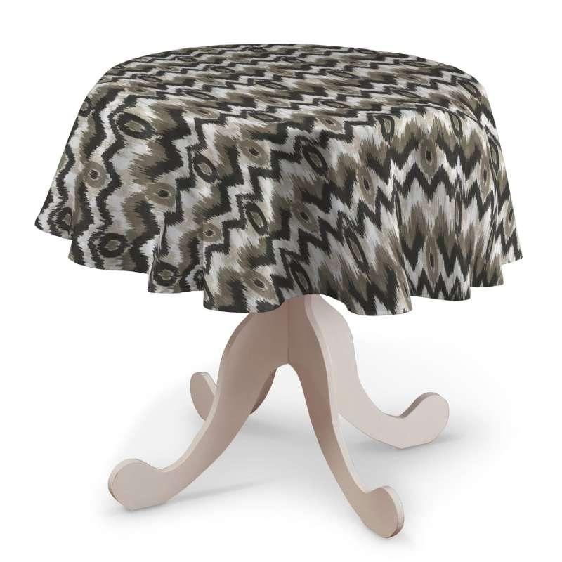 Rund bordsduk i kollektionen Modern, Tyg: 141-88