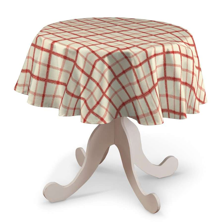 Round tablecloth in collection Avinon, fabric: 131-15