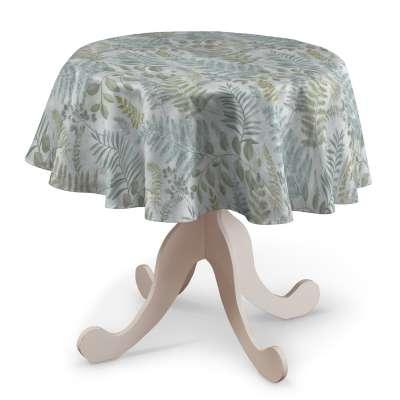 Obrus okrągły w kolekcji Pastel Forest, tkanina: 142-46