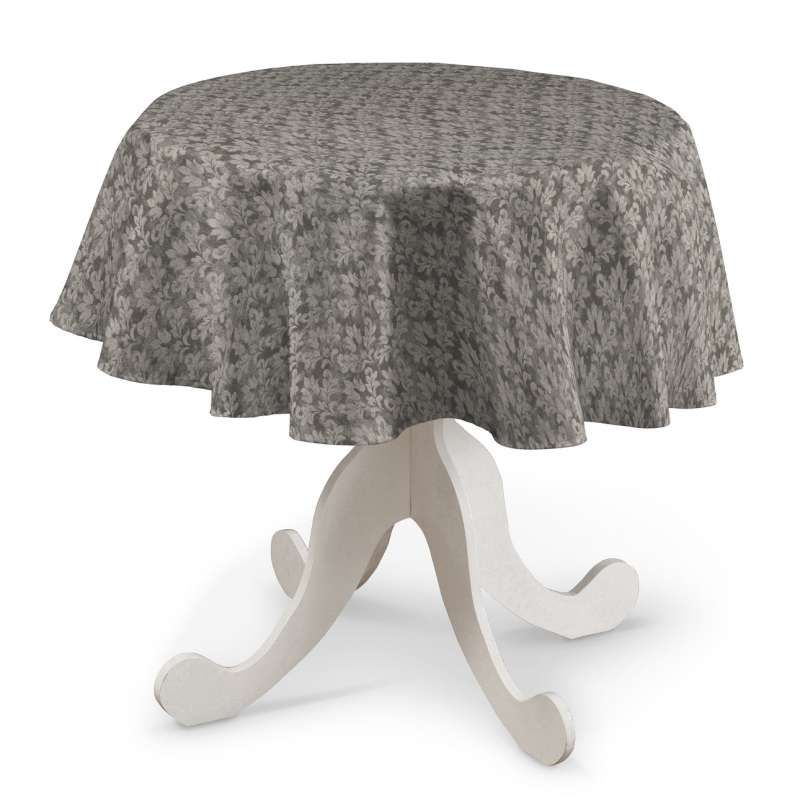 Round tablecloth in collection Retro Glam, fabric: 142-83