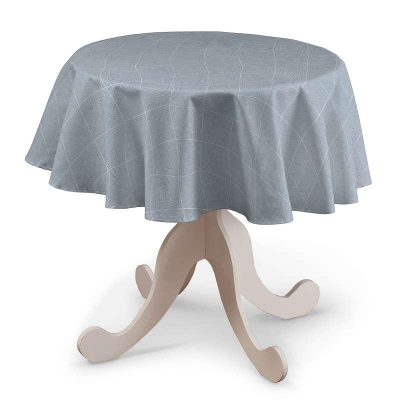 Runde Tischdecke von der Kollektion Venice, Stoff: 142-57