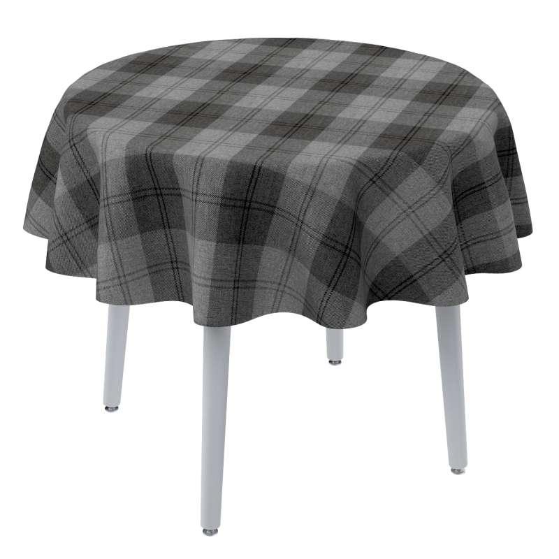 Rund bordsduk i kollektionen Edinburgh, Tyg: 115-75