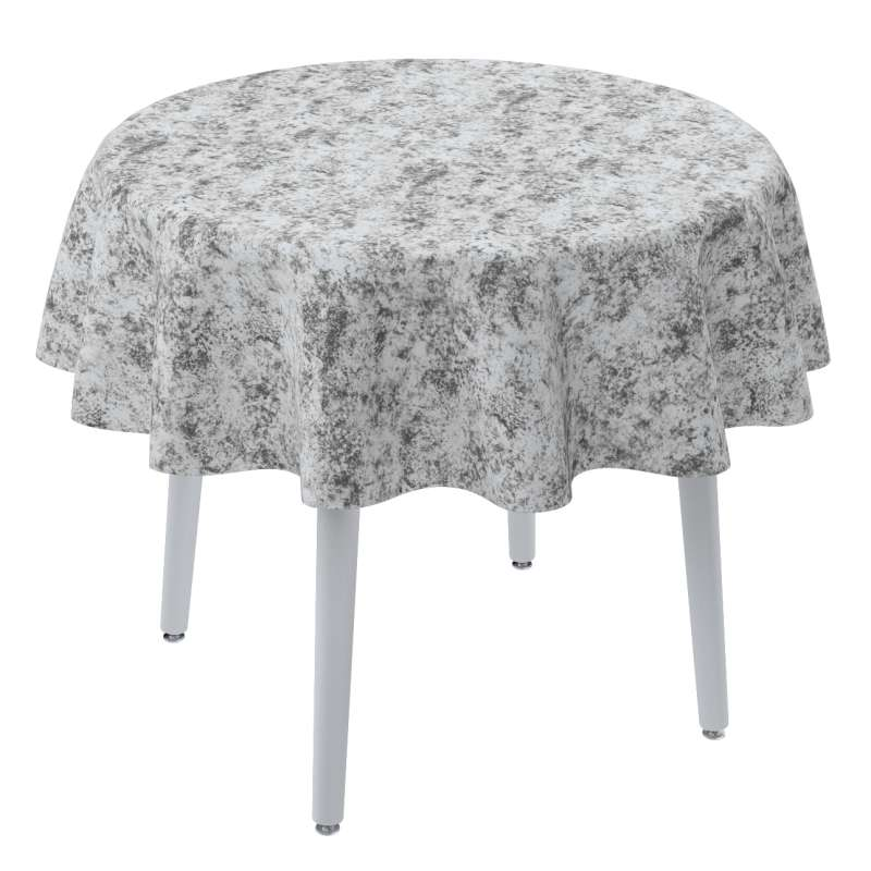 Round tablecloth in collection Velvet, fabric: 704-49