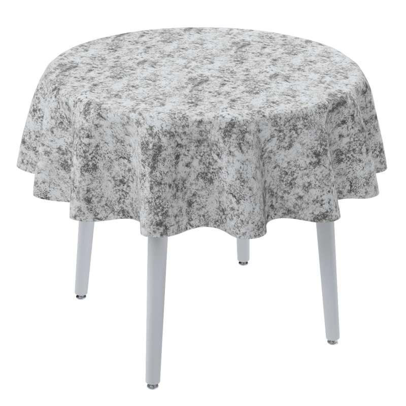Rund bordsduk i kollektionen Velvet, Tyg: 704-49