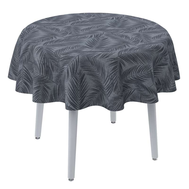 Round tablecloth in collection Venice, fabric: 143-53