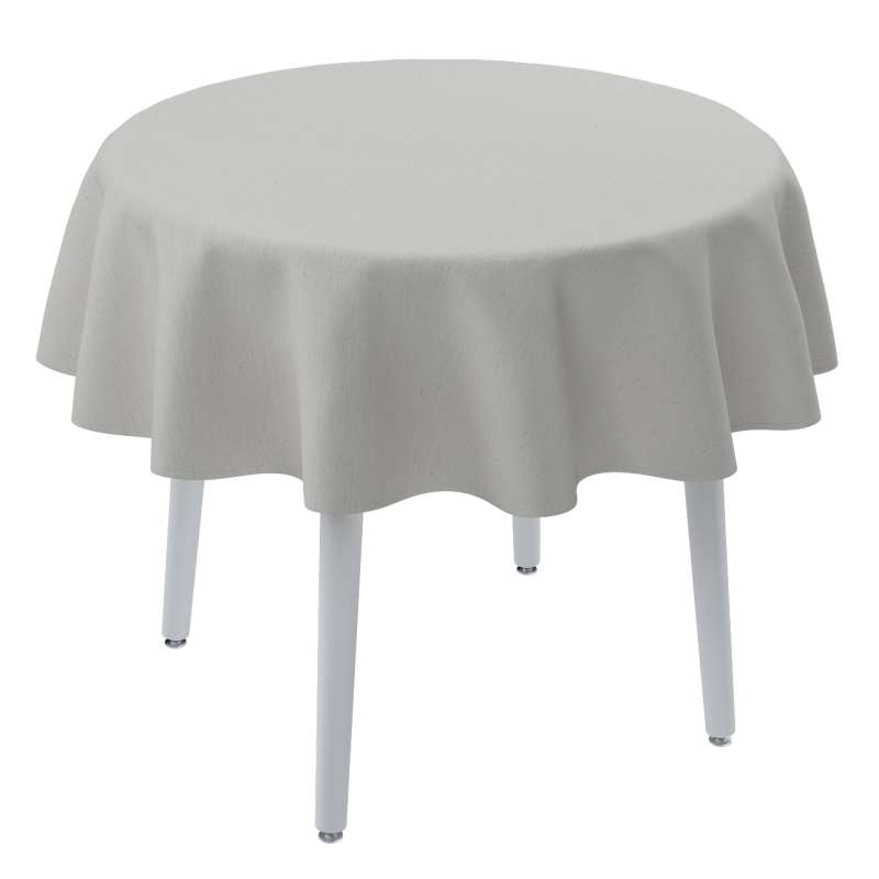 Round tablecloth in collection Linen, fabric: 159-06