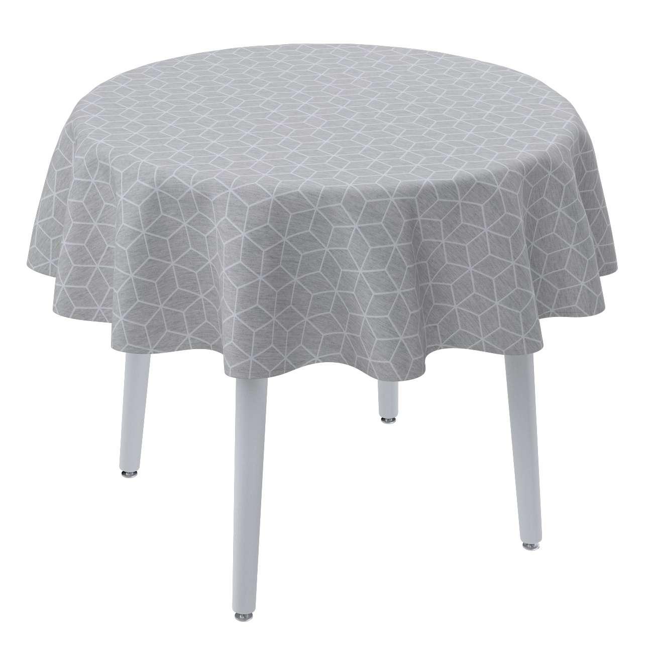 Runde Tischdecke von der Kollektion Sunny, Stoff: 143-50