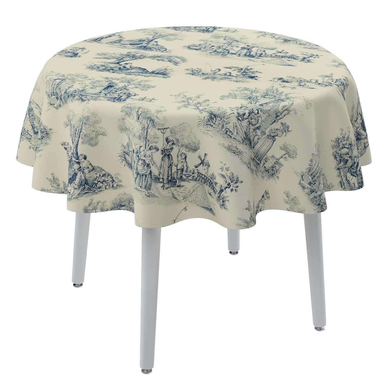 Staltiesės (apvaliam stalui) Ø 135 cm kolekcijoje Avinon, audinys: 132-66