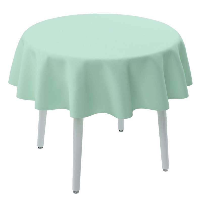 Runde Tischdecke von der Kollektion Loneta, Stoff: 133-37