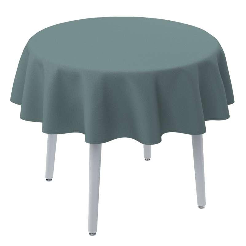 Kerek asztalterítő a kollekcióból Cotton Panama Bútorszövet, Dekoranyag: 702-40