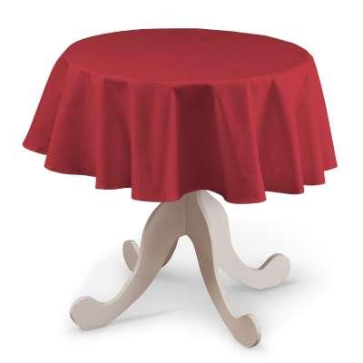 Ubrus kulatý 136-19 červená Kolekce Christmas